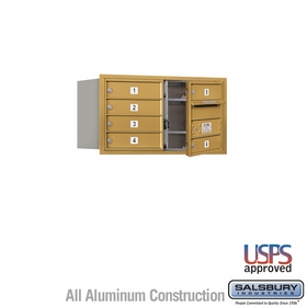 Salsbury 3704D-06GFU 4C Mailboxes 6 Tenant Doors Front Loading
