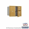 Salsbury 3706D-04GFU 4C Mailboxes 4 Tenant Doors Front Loading