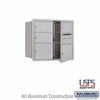 Salsbury 3707D-05AFU 4C Mailboxes 5 Tenant Doors Front Loading