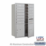 4C Mailboxes Front Loading 12 Door High Unit