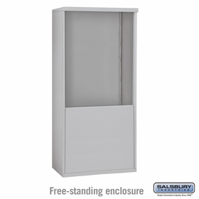 3910 Double Column Free-Standing Enclosure