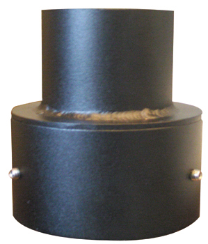 4 inch to 3 inch Pole Adaptor- Finial for Street Blade