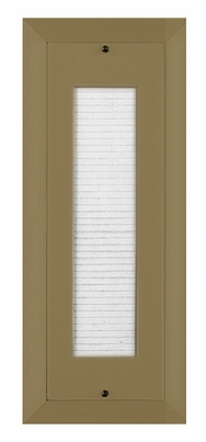 40 Name Capacity Directory for Vertical Mailboxes Gold Powder Coat