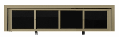 40 Name Capacity Directory - Gold Finish- for Front Load 2600 Units