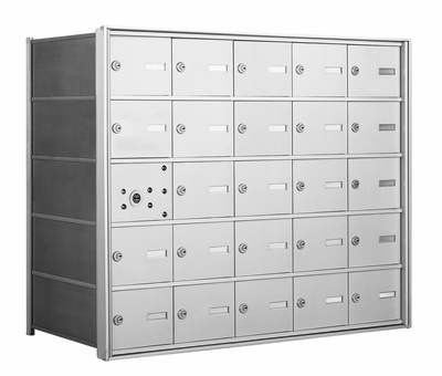 1400 Series Front Loading Horizontal Mailboxes - 24 Tenant Doors And 1 USPS Master Door