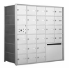 1400 Series Front-Loading Horizontal Mailboxes - 25 Tenant Doors and 1 Outgoing Mail Collection