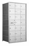 1400 Series Horizontal Front Loading Mailboxes - 20 Tenant Doors And 1 USPS Master Door
