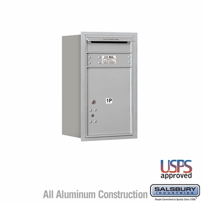 Salsbury 3707S-1PARU 4C Mailboxes 1 Parcel Locker Rear Loading