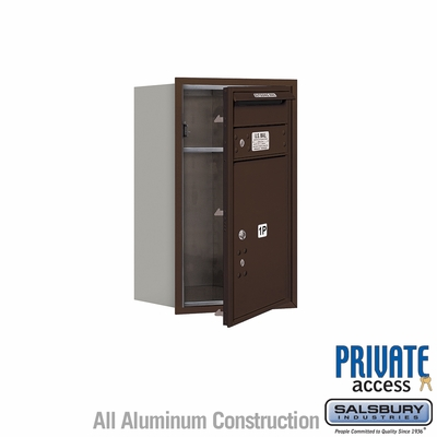 Salsbury 3707S-1PZFP 4C Mailboxes 1 Parcel Locker Front Loading