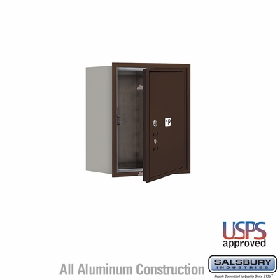 Salsbury 3705S-1PZFU 4C Mailboxes 1 Parcel Locker Front Loading