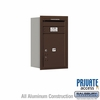 Salsbury 3707S-1PZRP 4C Mailboxes 1 Parcel Locker Rear Loading