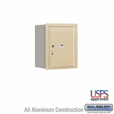 Salsbury 3705S-1PSRU 4C Mailboxes 1 Parcel Locker Rear Loading