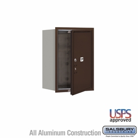Salsbury 3706S-1PZFU 4C Mailboxes 1 Parcel Locker Front Loading