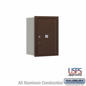 Salsbury 3706S-1PZRU 4C Mailboxes 1 Parcel Locker Rear Loading