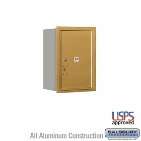 Salsbury 3706S-1PGRU 4C Mailboxes 1 Parcel Locker Rear Loading