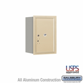Salsbury 3706S-1PSRU 4C Mailboxes 1 Parcel Locker Rear Loading