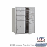 4C Mailboxes Front Loading 10 Door High Unit