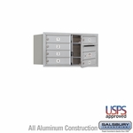 4C Mailboxes Front Loading 4 Door High Unit