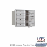 4C Mailboxes Front Loading 6 Door High Unit