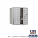 4C Mailboxes Front Loading 8 Door High Unit