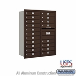 4C Mailboxes Rear Loading 11 Door High Unit