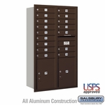 4C Mailboxes Rear Loading 14 Door High Unit