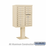 4C Pedestal Mailboxes - 17 to 18 Doors