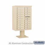 4C Pedestal Mailboxes - 21 or More Doors