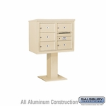 4C Pedestal Mailboxes - 5 to 6 Doors