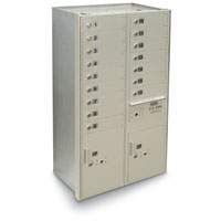 4C Wall-Mount 16-Door High Security Horizontal Mailbox