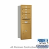 Salsbury 3713S-05GRP 4C Mailboxes 5 Tenant Doors Rear Loading