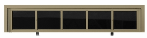 50 Name Capacity Directory - Gold Finish- for Front Load 2600 Units