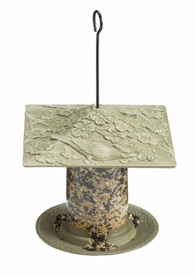"Whitehall 6"" Cardinal Tube Feeder - French Bronze"