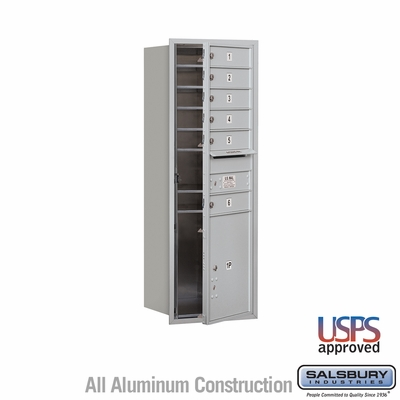Salsbury 3713S-06AFU 4C Mailboxes 6 Tenant Doors Front Loading