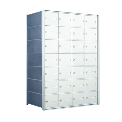 7 Doors High x 4 Doors (28 Tenants) 1500 Horizontal Mailbox Rear-Load