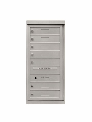 7 Single Height Tenant Doors Front Loading Flex-S7 USPS Approved 4C Horizontal Mailboxes