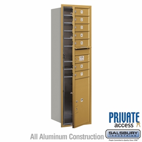 Salsbury 3715S-07GFP 4C Mailboxes 7 Tenant Doors Front Loading