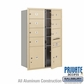 Salsbury 3713D-07SFP 4C Mailboxes 7 Tenant Doors Front Loading