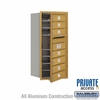 Salsbury 3709S-07GFP 4C Mailboxes 7 Tenant Doors Front Loading