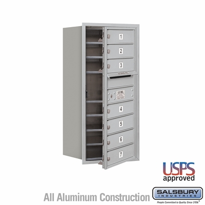 Salsbury 3709S-07AFU 4C Mailboxes 7 Tenant Doors Front Loading