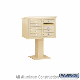 4C Pedestal Mailboxes - 7 to 8 Doors
