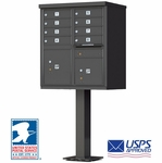 8 Door CBU Mailbox - Bronze