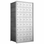 8 Doors High x 5 Doors (40 Tenants) 1700 Horizontal Mailbox Rear-Load Private Distribution