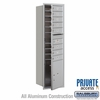 Salsbury 3715S-08AFP 4C Mailboxes 8 Tenant Doors Front Loading