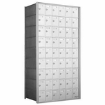 9 Doors High x 6 Doors (54 Tenants) 1700 Horizontal Mailbox Rear-Load Private Distribution