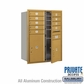 Salsbury 3711D-09GFP 4C Mailboxes 9 Tenant Doors Front Loading