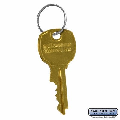 Salsbury 3498 Additional Key - for 4C Pedestal Mailbox Lock