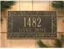 Standard Size Oakleaf Wall Plaque - (1 or 2 lines)