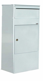Allux 800 Parcel Box in Grey