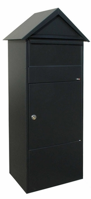 Allux 810 Parcel Box in Black